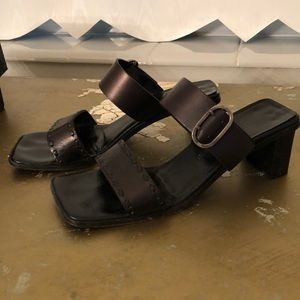 YSL Two strap sandal with buckle